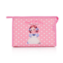Lady Fashion Clutch Printed PU Cosmetic Toiletry Wash Pouch (YKY7532-2)