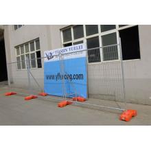 Geschweißte Wire Mesh Fechten / montiert Eisen Factory Guard Fechten / China direkt Factory Powder Coated Stahl Garten Zaun
