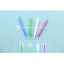 Applicateur de brosse à microchirurgie dentaire et dentaire
