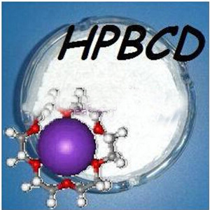 hydroxypropyl-beta-cyclodextrin  Increase water solubility
