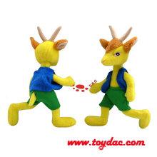 Plush Cartoon Clothing Goat