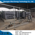 Used Car Tyre Oil Extraction By Pyrolysis Process