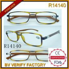 Seguridad comercio de diamantes de imitación venta por mayor gafas de lectura (R14140)