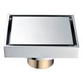 HIDEEP alta qualidade latão banheiro espelho chuveiroFreno de drenagem