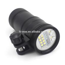 Multi-función llevada linterna de luz fuerte para foto 5200lumen