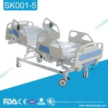 SK001-5 3 lits médicaux malades réglables d'hôpital de pièce d'Icu de chambre médicale