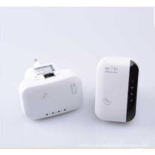 Repetidor sin hilos del amplificador del suplemento de la pared del amplificador 802.11 B / G / N de 300Mbps WiFi