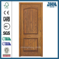 JHK Two Panel Wood Grain Veneer Door