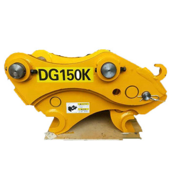 Excavator bucket quick connector of CAT