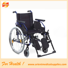 Aluminum lightweight folding wheelchair
