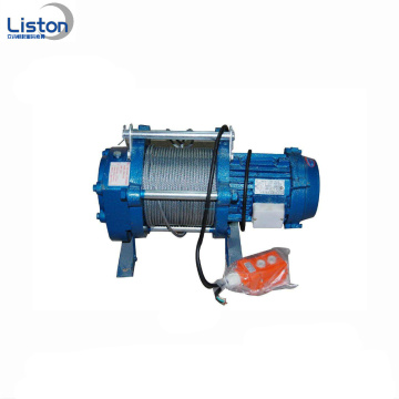2Ton kabel drar vinsch Wire Rope Electric Winch