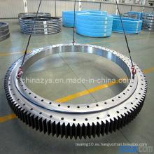 Zys alta calidad pequeño doble fila diferente diámetro de la bola de giro rodamiento 020.25.630