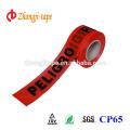 красный Non слипчивая предупреждающий лента
