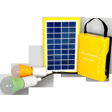 Solar-Home-System mit LED-Licht