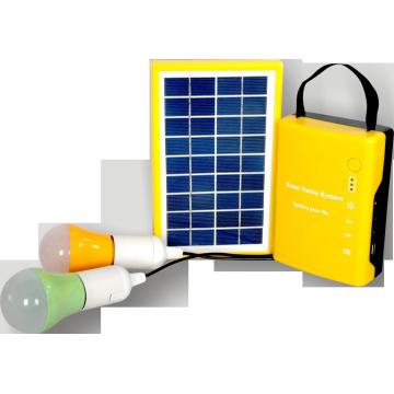 Système solaire Home avec LED Light