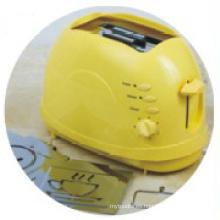 Tostadora con el Logo de asar desmontable amarillo Color (WT-819R)