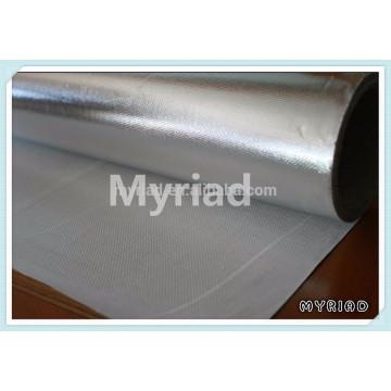 Paño de la fibra de vidrio de la hoja de aluminio detrás, laminación de la fibra de vidrio de la hoja de aluminio, laminación reforzada del papel de aluminio
