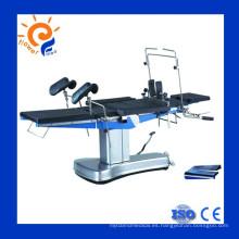 Mesa de operación quirúrgica hidráulica eléctrica universal
