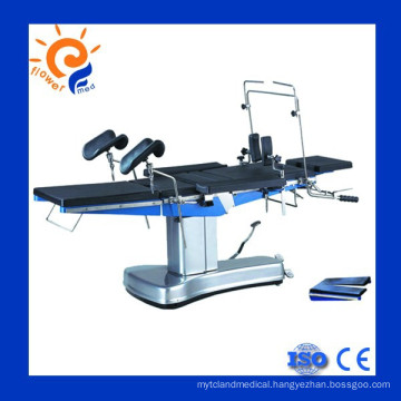 Comfortable universal electrical operation table