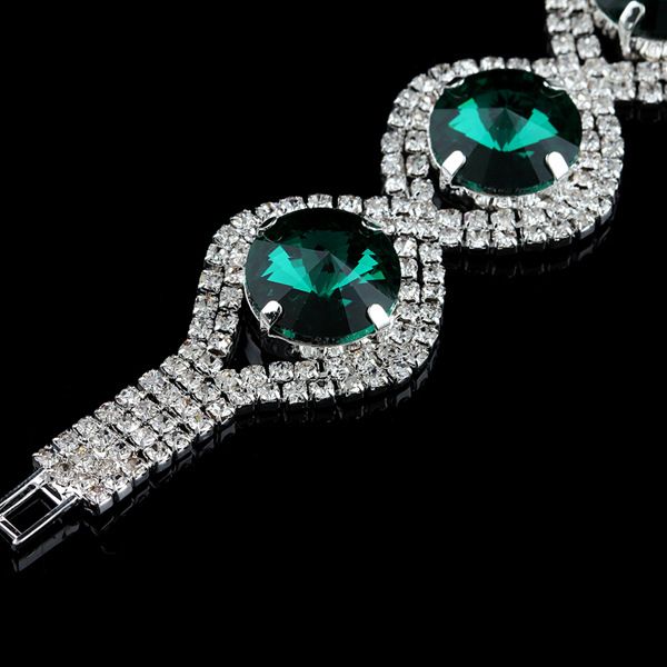 Round Crystal Bracelets For Women