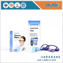 Individual Pack Sunglasses and Eyeglasses Wet Wipes
