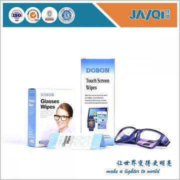 Antibacterial Eyeglasses Limpieza de papel húmedo