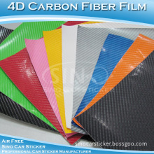 Many Colors 4D Carbon Fiber Vinyl Carbon Foil Carbon Fiber Film