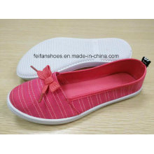 Newest High Quality Lady′s Canvas Shoes FF727-7