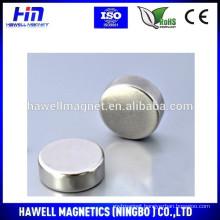 Sintered NdFeB round disc/cylinder magnet N35,N38, N40
