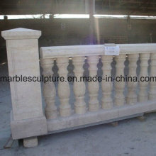 Egypt Cream Stone Sculpture Stair Balustrade (SY-B004)