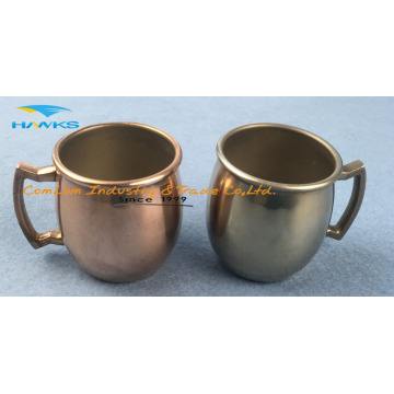 Stainless Steel Mini Coffee Mug with Handle 2016