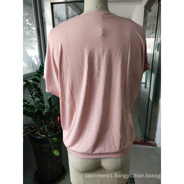 Latest Summer Fashion Pink Lovely Flower T-Shirt Clothes