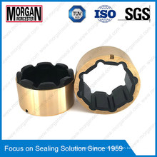 Oilfield Mwd Mud Pulser Rubber Product / Rubber Bearing