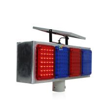 солнечный пластик мигающий светодиодный светофор стробоскоп