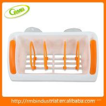 Estante de baño de plástico