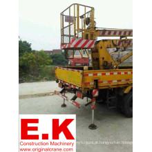 Elevador hidráulico do caminhão da gaiola de Isuzu (GKZ-12)