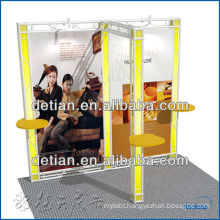 Modular cardboard exhibition stands for trade show