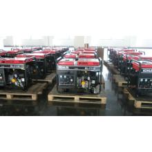 8KVA Портативный генератор открытого бензинового двигателя KGE10E