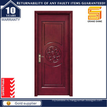 Черный входной двери из черного ореха Внутренние деревянные противопожарные двери