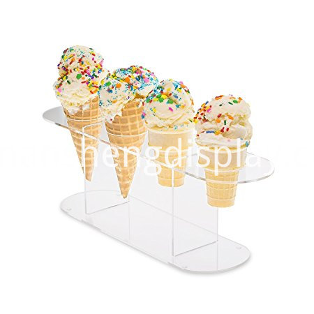acrylic cone holder stand