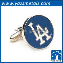mancuernos designer customiz, mancuernas feitos sob medida LA Dodgers