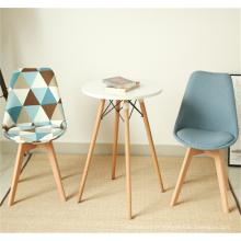 table de salle à manger en bois blanche