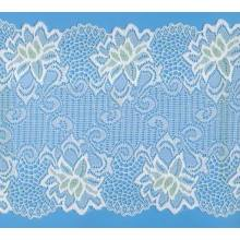 eyelet nylon lace for lady accessories/new design patterns lace / attractive nylon lace fabric