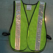 High Visibility Safety Vest / Traffic Vest with Reflective Tape