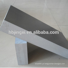 Folha de PVC rígido cinza de fábrica de plásticos