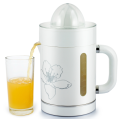 white green color manual plastic orange juicer