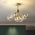 Modern Glass Staircase Chandeliers