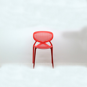Outdoor design stackable polypropylene plastic chair