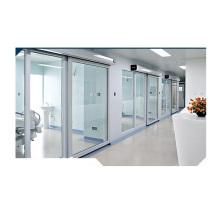 Puerta hermética automática de vidrio templado de 12 mm
