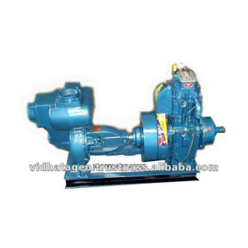 Diesel self priming pump set